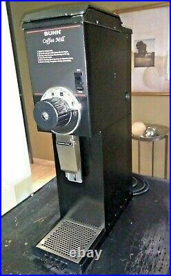 SALE PRICE! Bunn G3 HD Black Commercial 3 lb Coffee Grinder SANITIZED! 7940