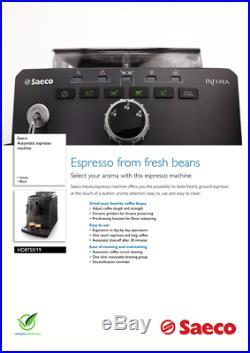 Saeco Intuita Automatic Espresso Machine