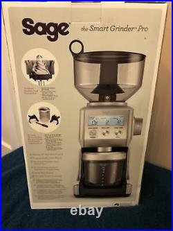Sage the Smart Grinder Pro Coffee Grinder Stainless Steel BCG820BSSUK