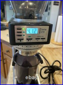 Sette 270 Programmable Dosing Conical Burr Coffee Grinder