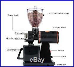 US 110V Electric Automatic Burr Coffee Grinder Mill Coffee Bean Powder Grinding