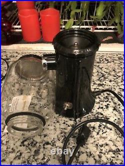 Vintage KItchenaid a-9 Kcg 200 Black Mill Free Ship Burr Coffee Grinder Great A9