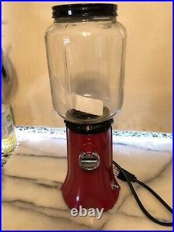 Vintage KItchenaid a-9 Kcg 200 Rare Red Free Ship Burr Coffee Grinder A9