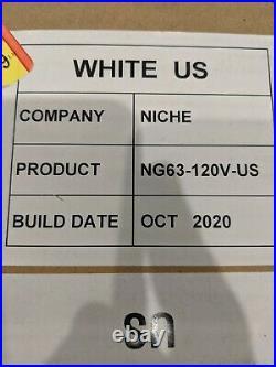 White Niche Zero US Coffee Grinder