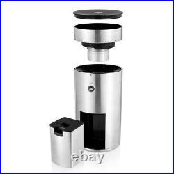Wilfa Svart Uniform Electric Flat Burr Coffee Grinder Silver WSFB-100S