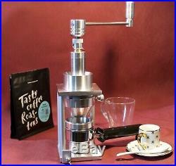 YK2-71 ESPRESSO COFFEE GRINDER MAZZER BURRS 71mm handmade