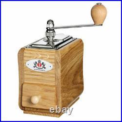 Zassenhaus Manual Coffee Grinder / Mill SANTIAGO Oak Wood #040227